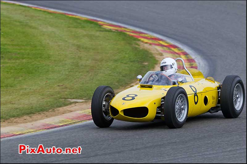 ferrari 156 driver Biekens-Jan historic gp cars spa-francorchamps