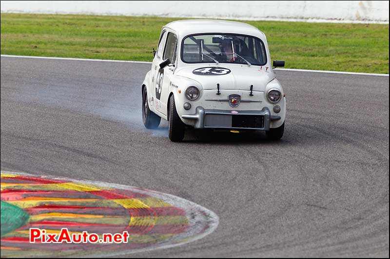fiat 500 abarth, circuit SPA-Francorchamps