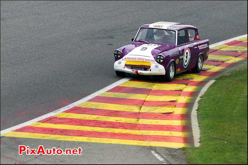 ford anglia n9, circuit SPA-Francorchamps