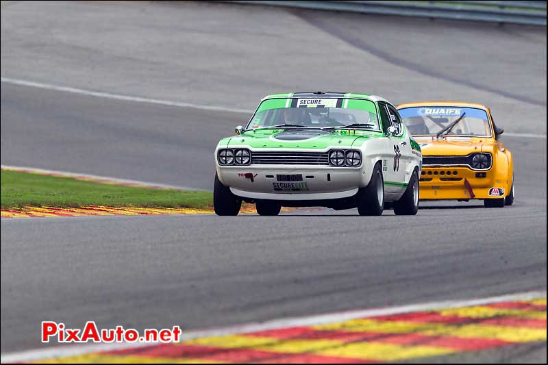 ford capri n66, circuit SPA-Francorchamps