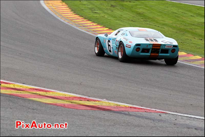 ford gt40 n6, circuit SPA-Francorchamps