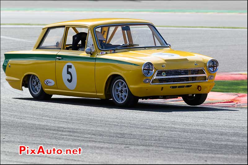 ford lotus cortina driver Monteverde-Carlos Pearson-Gary