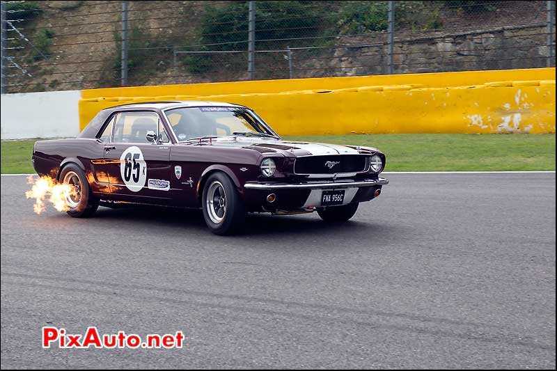 ford mustang n°65 hscc spa-francorchamps