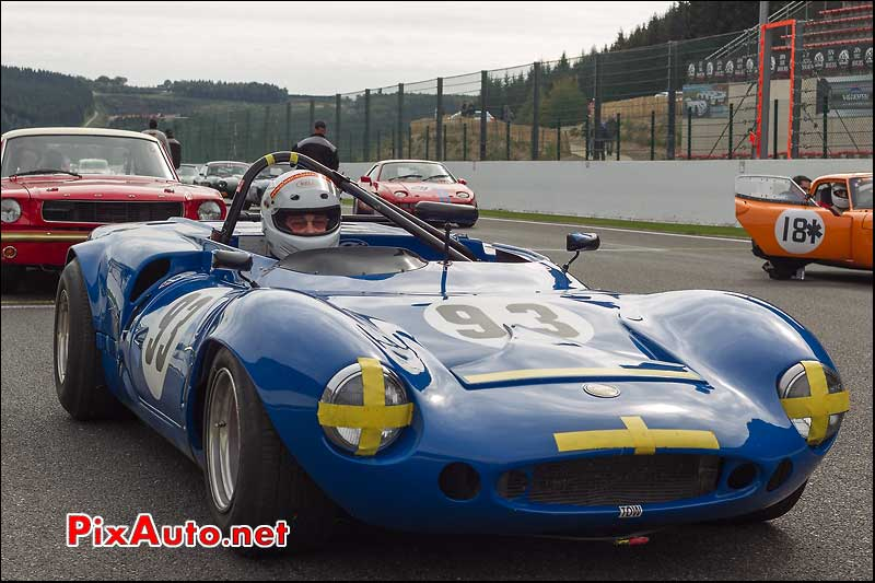 ginetta g16 n°93 grille depart spa-francorchamps