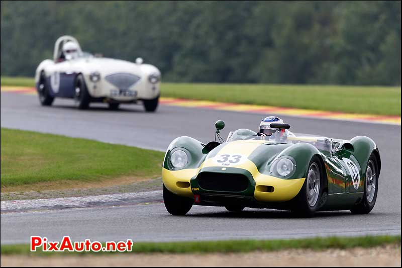 lister knobbly n°33 spa-francorchamps
