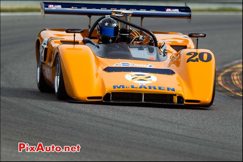 mclaren m8c de 1970 driver Read-Harry serie can-am