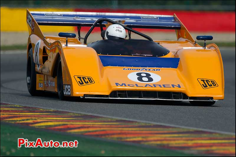 mclaren m8f de 1972 driver Newall-Andrew serie can-am