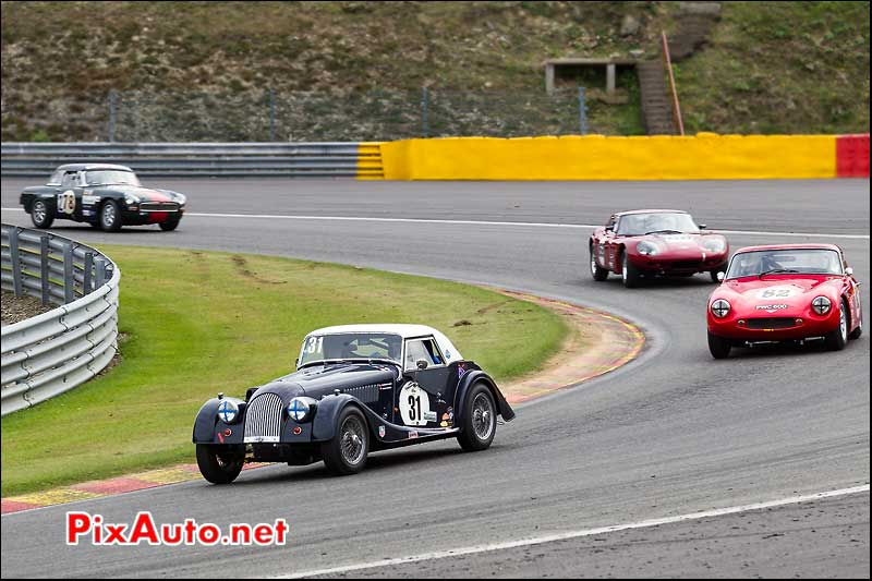 morgan plus 4 de 1963 spa-francorchamps