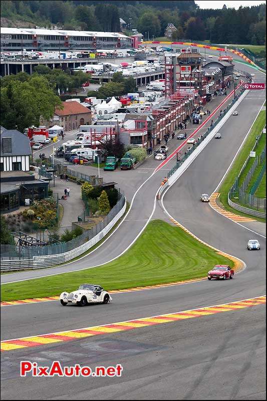 raidillon de l'eau rouge spa six hours
