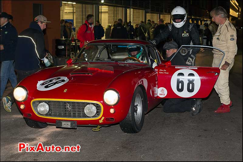 ferrari 250gt swb aux stands spa six hours