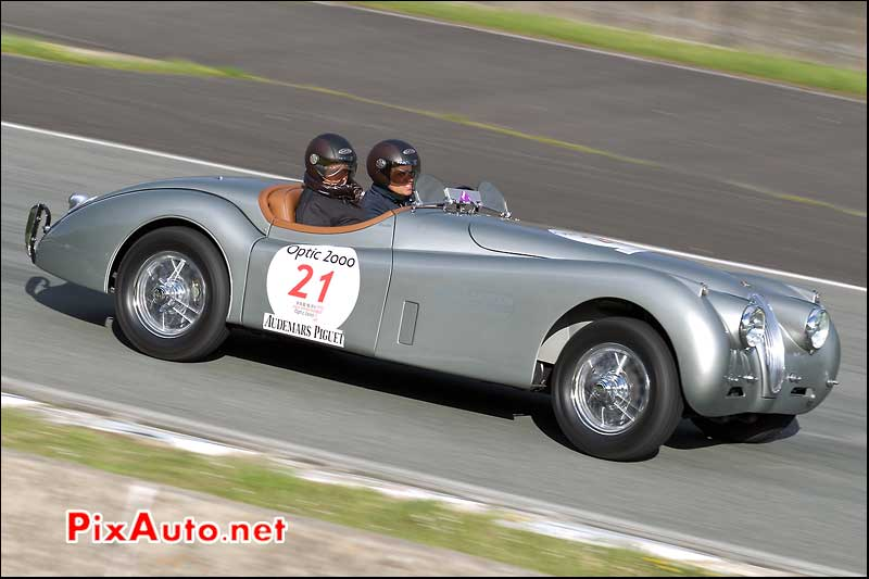 tour auto circuit de charade jaguar xk120 roadster