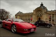 Traversee de Paris 2012, ferrari devant petit palais