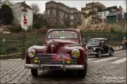 Traversee de Paris 2012, peugeot 203 vignes montmartre