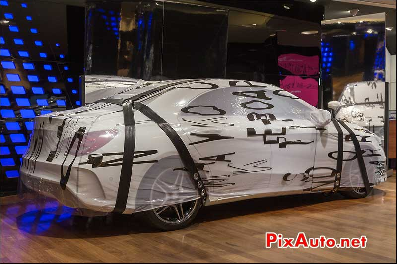 robe voiture CLA Mercedes-Benz, no editions
