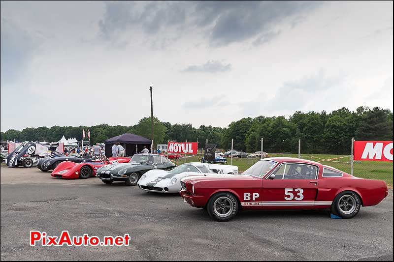 Expo sixties competition, Autodrome heritage Festival 2013