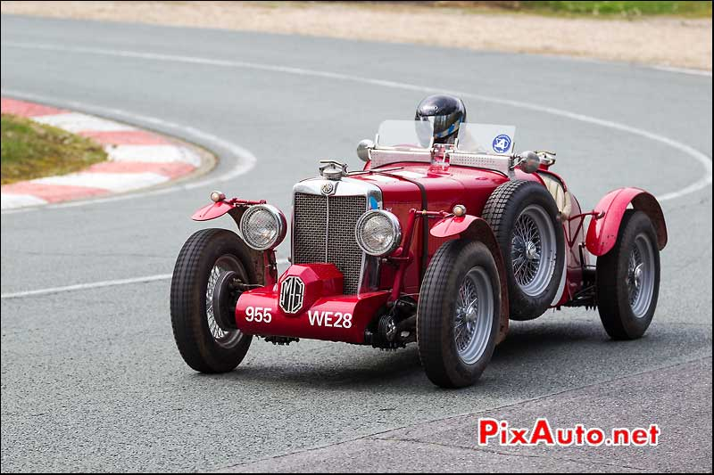 MG Supercharged, coupes de printemps, Montlhery