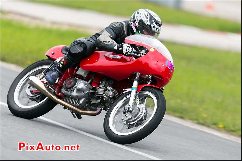 aermacchi, cafe-racer-festival 2013, chicane nord circuit Linas-Montlhery