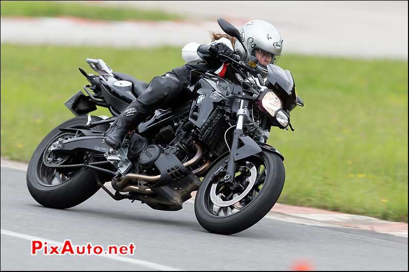 BMW Motorrad F800R, cafe-racer-festival 2013, circuit Linas-Montlhery