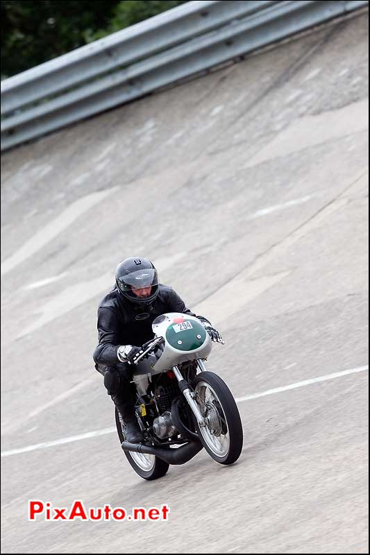 Bultaco Motorcycle, cafe-racer-festival 2013, anneau vitesse Linas-Montlhery