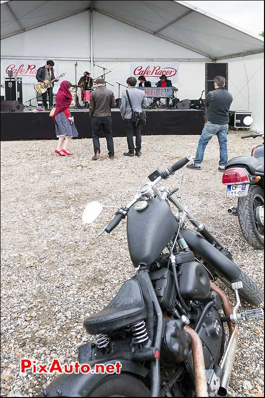 Hell, Debut du concert, cafe-racer-festival 2013, circuit Linas-Montlhery
