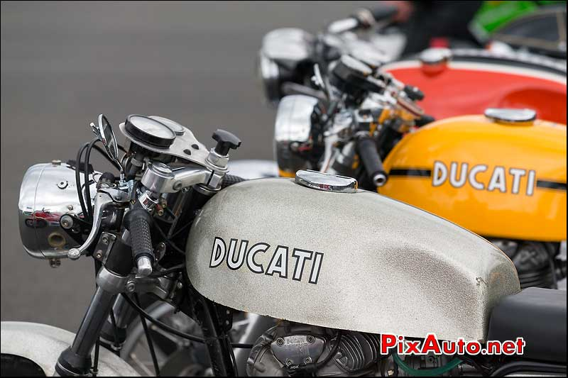 Ducati desmo, cafe-racer-festival 2013, circuit Linas-Montlhery