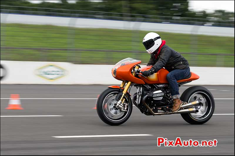 Sprint ninety BMW R90s, cafe-racer-festival 2013, circuit Linas-Montlhery