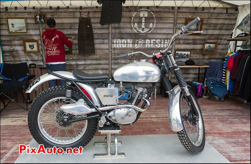 Triumph Tiger Cup Trials, Iron and Resine, cafe-racer-festival 2013