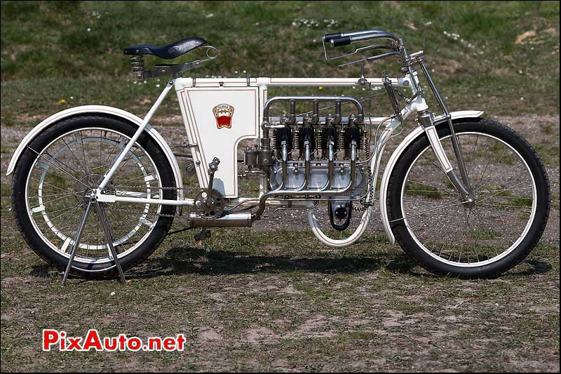 motocyclette laurin-clement vintage revival montlhery