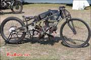 moto Ganardiz 5cylindres, vintage revival 2013, circuit-montlhery