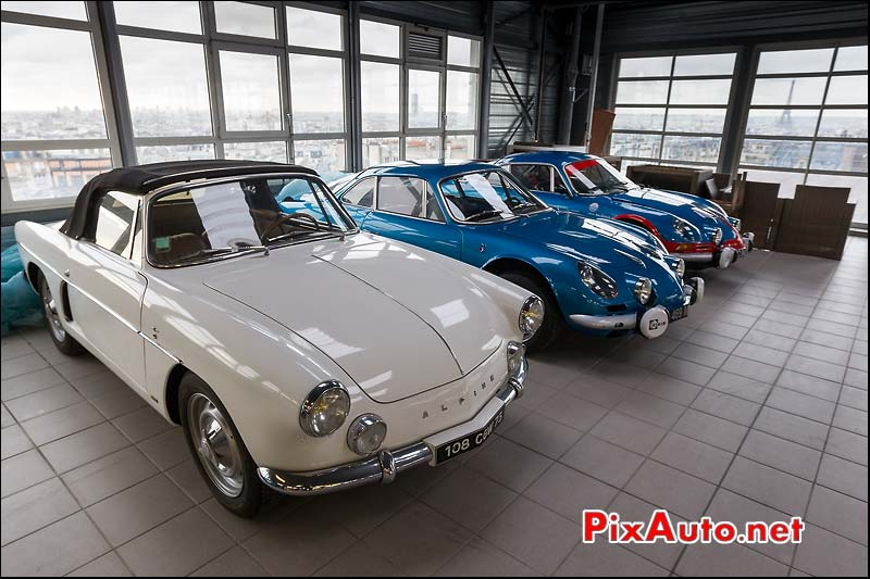 Alpine A108 Cabriolet et berlinette A110, collection Redele