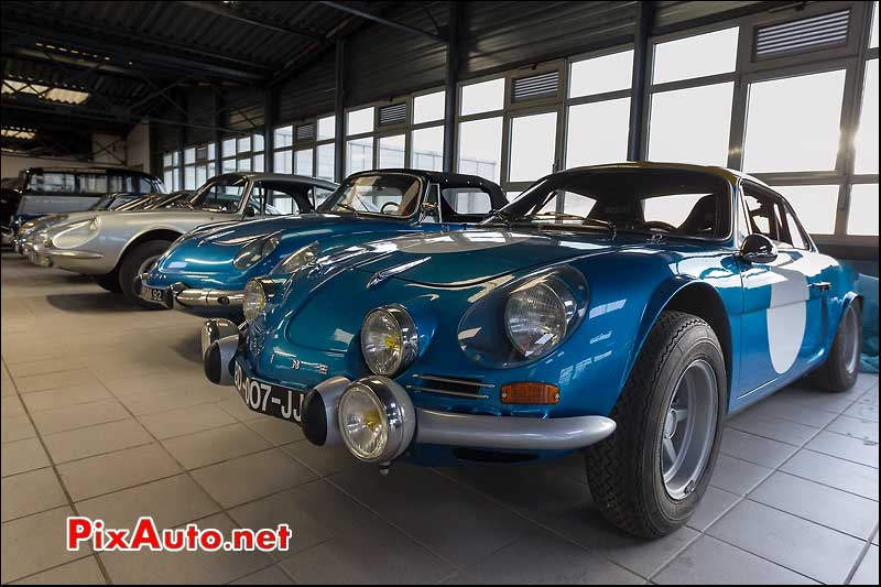 berlinette Alpine A110, collection Rédélé