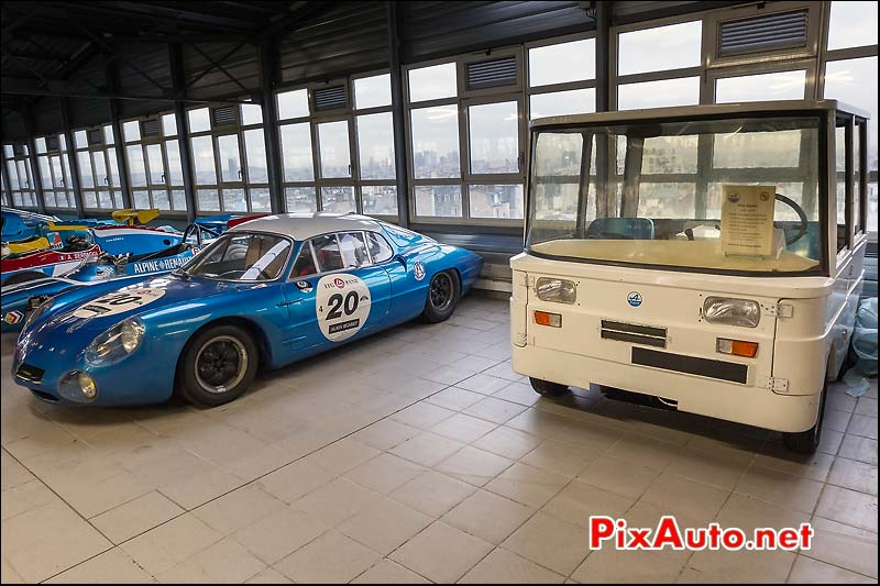 mini Alpine et Alpine m63, collection Rédélé