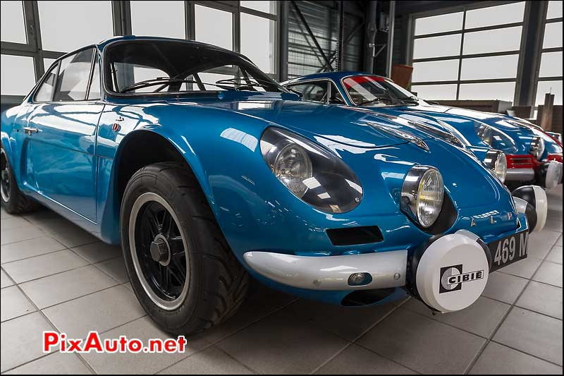 prototype berlinette Alpine A110