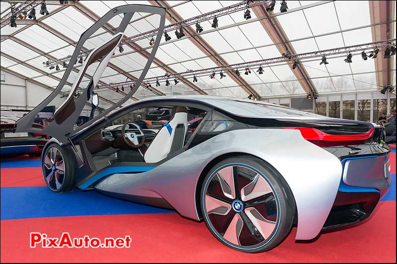 bmw i8 concept, 28eme festival automobile international