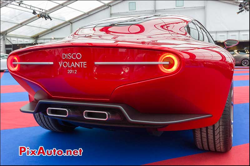arriere touring disco volante 2012, festival automobile international