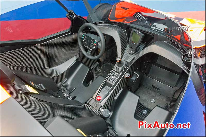 habitacle ktm x-bow 7.25
