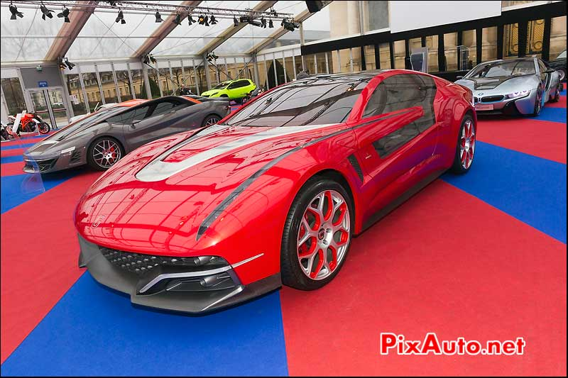 italdesign giugiaro brivido, 28eme festival automobile international