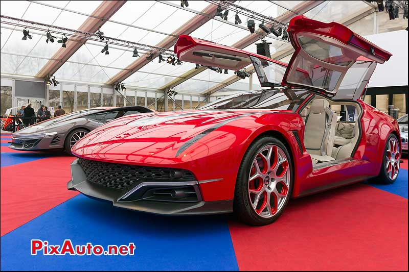 concept-car italdesign giugiaro brivido, festival automobile international