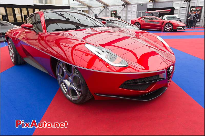 touring disco volante 2012, festival automobile international 2013