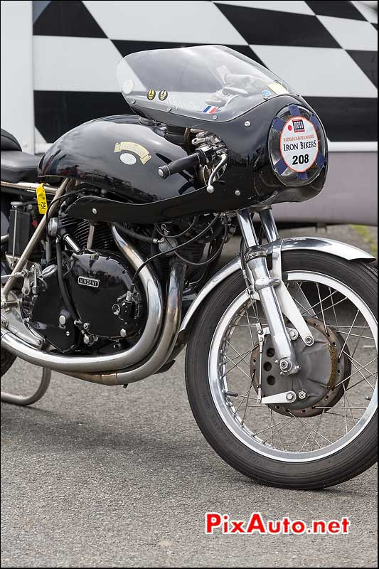Iron Bikers 2013, n208 Egli-Vincent replica