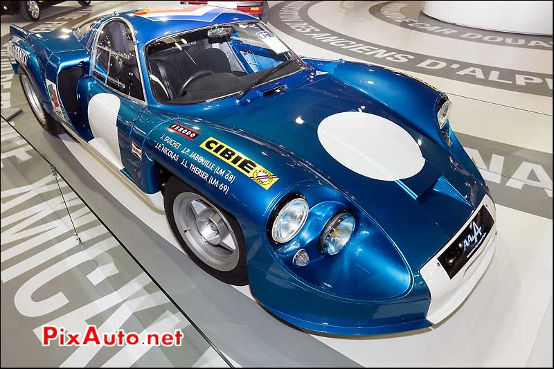 alpine renault A220A, renault classic team
