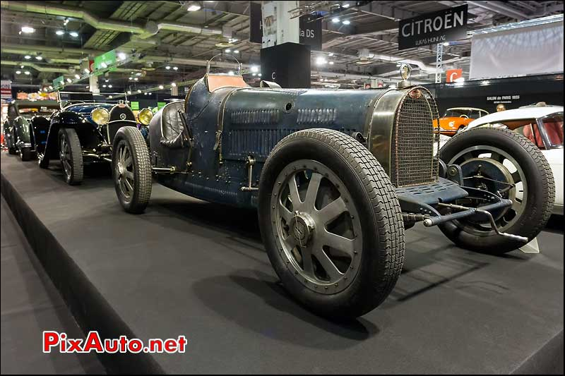 Bugatti type 35c de 1931, retromobile 2013