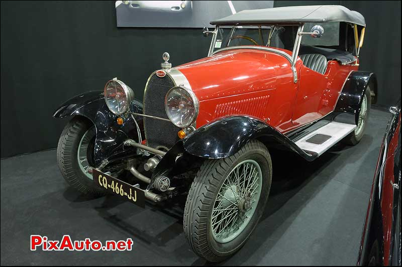 bugatti type 40 #40445, salon retromobile 2013