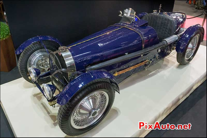 Bugatti type 59 #59121 de 1933, 38e retromobile