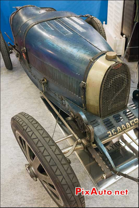 bugatti type 35 de 1925, retromobile 2013