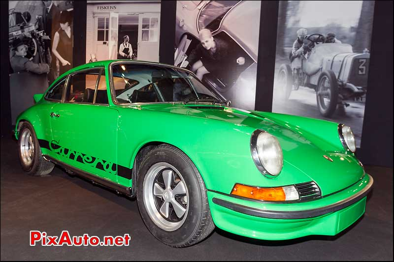Porsche 911 Carrera RS, stand Fiskens retromobile 2013