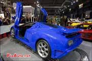 Bugatti EB110SS, presentation Artcurial Motorscars Salon Retromobile 2013