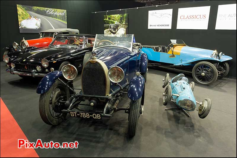 torpedos bugatti, 38e salon retromobile