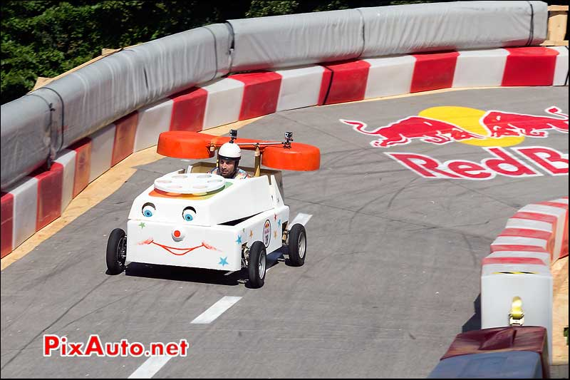 Caisse a Savon Red Bull numero 39, Saint-Cloud