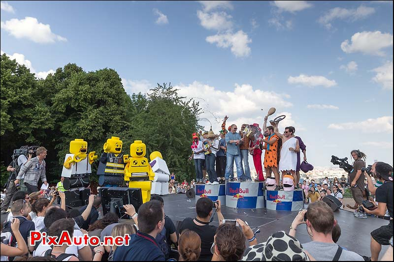 Podium course Caisse a Savon Red Bull, Saint-Cloud